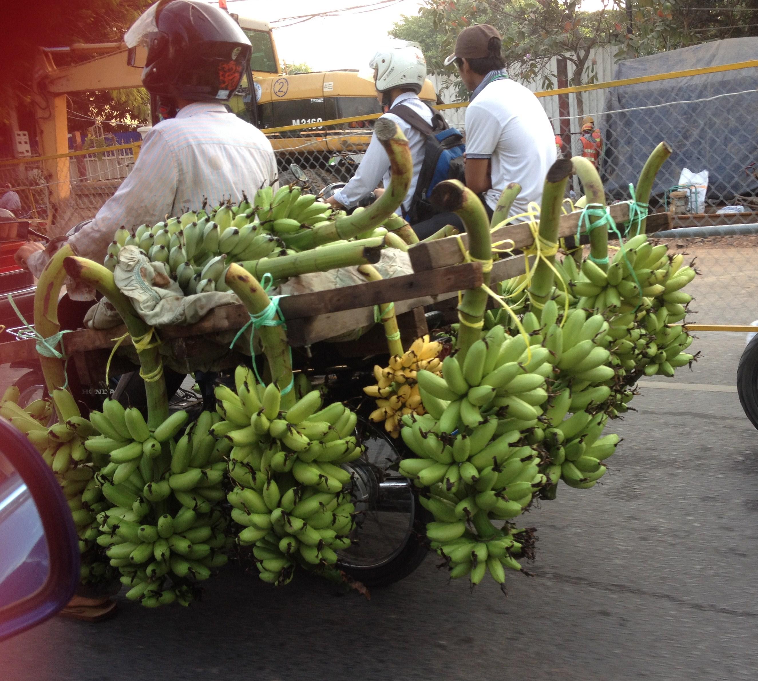 Khmer Festive Sweet Num Ansom Chek Banana Filled